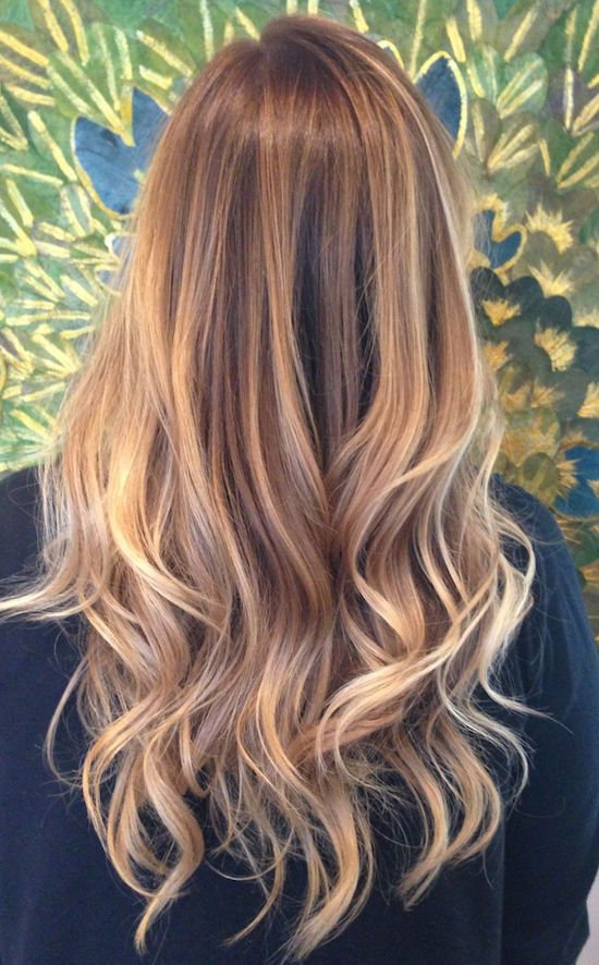 trend team balayage highlights ombre bronde babylights. Black Bedroom Furniture Sets. Home Design Ideas